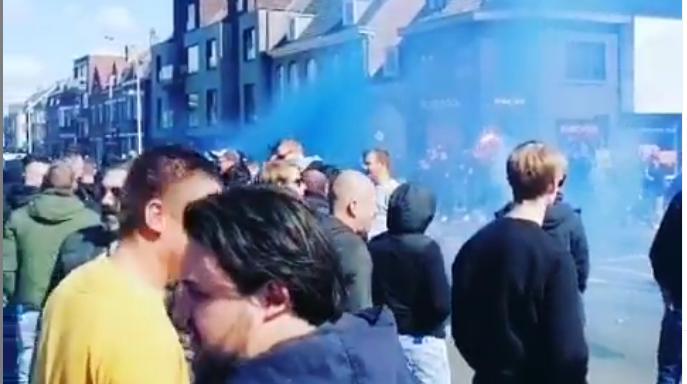 Politie van Brugge reageert op taferelen voor Anderlecht: 'Bewust gedoogd'