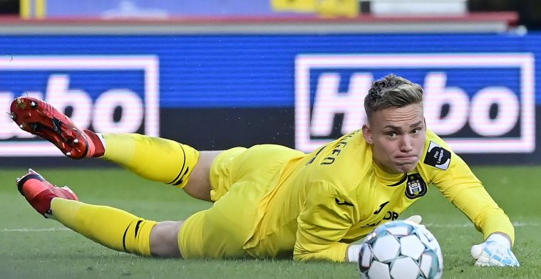 """Verbruggen (Anderlecht) over debuut tegen Club Brugge: """"Dat verwacht je niet"""""""