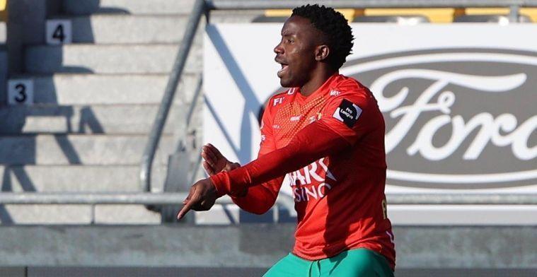 """Sakala (KVO) over transfer: """"Ik weet wat de club en fans van mij verwachten"""""""