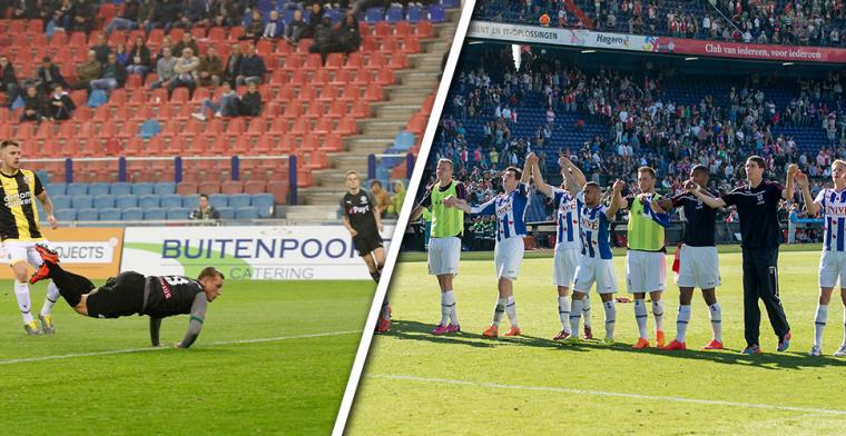 Twaalf jaar play-offs in Eredivisie: zelden volle bak, vooral clubfans lopen warm