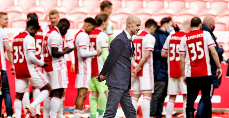 Ten Hag ziet doorslaggevende Ajax-move: 'Hij was de missing link'