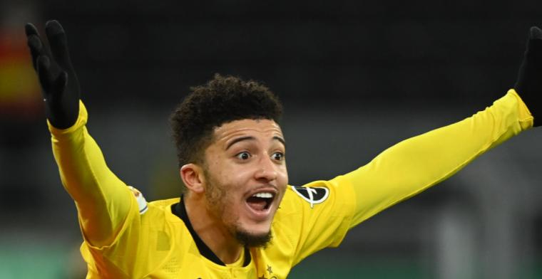 'United in hoge paraatheid: Dortmund zet mes in vraagprijs voor Sancho'