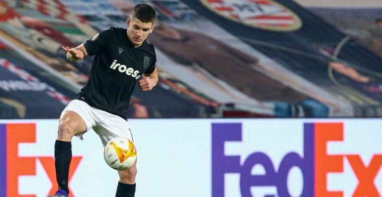 'Club Brugge heeft komst van PAOK-toptalent Tzolis nog niet opgegeven'