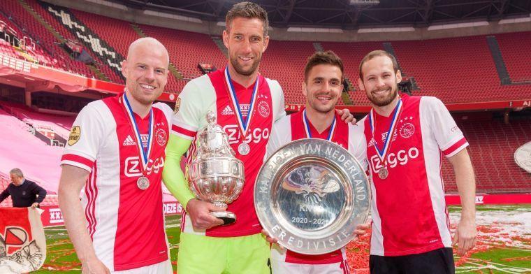 'Tadic beste speler van de Eredivisie, Berghuis in kielzog van Ajax-captain'