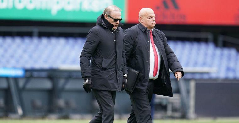 Teammanager Feyenoord haalt gram: 'Ik heb nog nooit zo'n puinhoop meegemaakt'