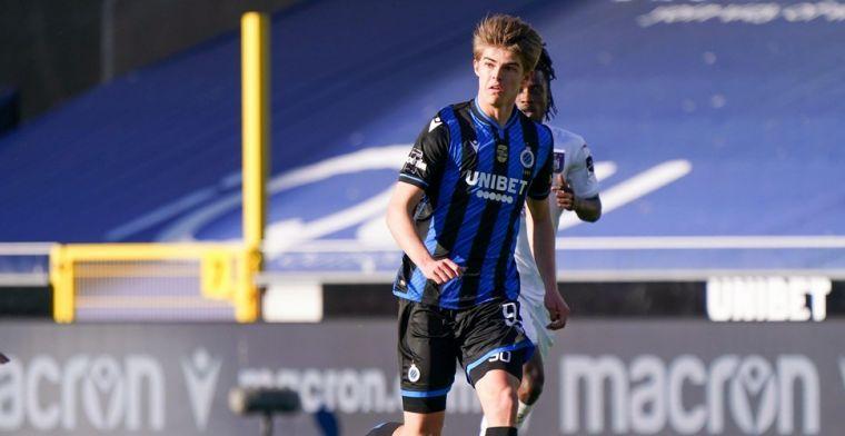 'Real Madrid en Napoli zijn onder de indruk en informeren bij Club Brugge'