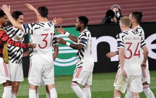 Afbeelding: Roma redt de eer in vermakelijke returnwedstrijd, maar Man United naar de finale