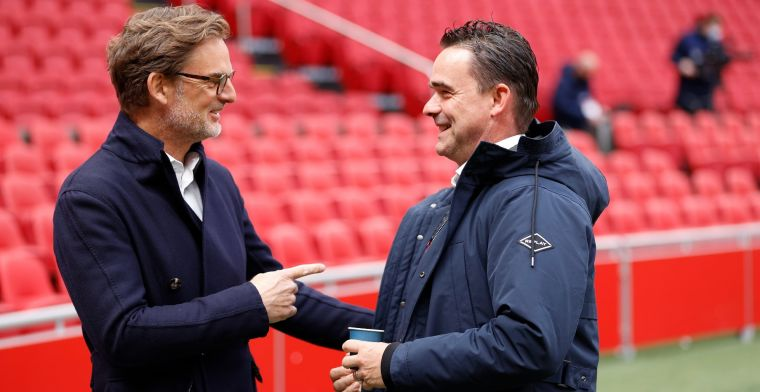 Overmars rekent op twee Ajax-transfers: 'Dat zij ervoor openstaan, is geen geheim'