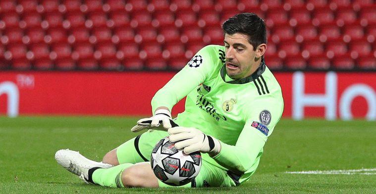 """Courtois druipt af na nederlaag Real Madrid: """"Dat was het keerpunt"""""""