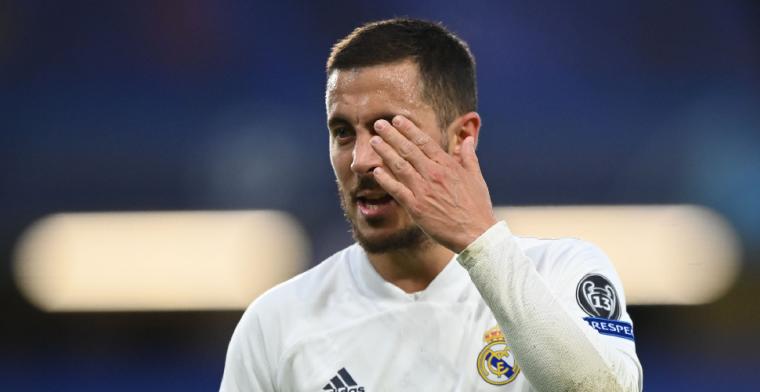 Hazard zorgt voor 'monumentale woede' bij Real Madrid: Onacceptabel