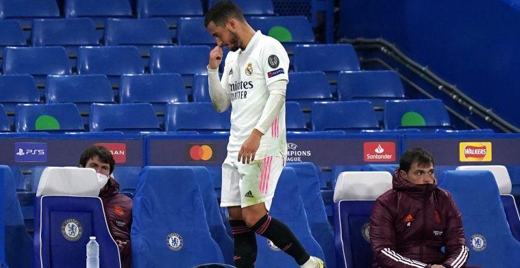 Hazard biedt zijn excuses aan: Wou de fans van Real niet beledigen