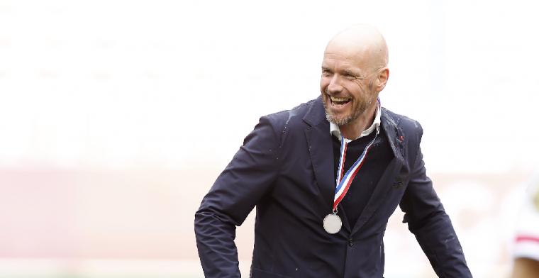 The Athletic: Ajax-vertrek Ten Hag is ondanks contractverlenging niet uitgesloten