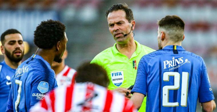Letsch haalt uit, Nijhuis is zich van geen kwaad bewust: 'Never nooit penalty'