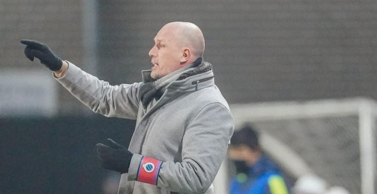 Clement haalt uit na verlies Club Brugge: 'Ik ben kwaad, zwaar teleurgesteld'