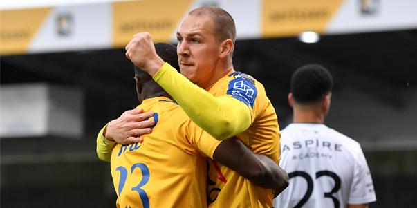 'KRC Genk en Anderlecht denken aan Waasland-Beveren topschutter Frey'
