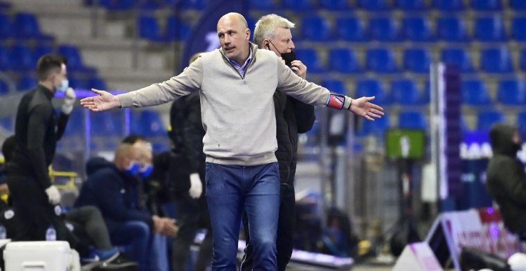 Club Brugge-supporters viseren Clement: 'Wanneer gaat die buitenvliegen, een grap'