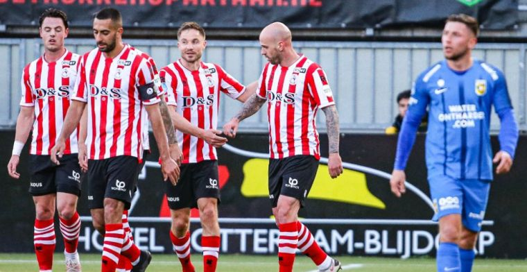 Sparta blijft in race om play-offs Europees voetbal en deelt dreun uit aan Vitesse