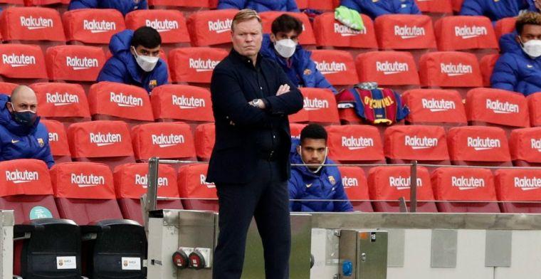 Slecht nieuws voor Koeman: Schreuder moet topper tegen Atlético leiden