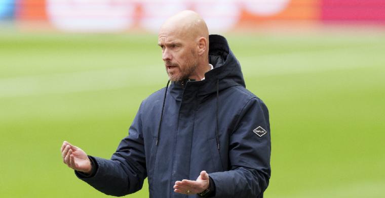 Ten Hag over erehaag Ajax: De kampioen moet je feliciteren
