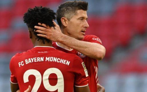 Afbeelding: 'Sofameister' Bayern zet feest luister bij: ontketende Lewandowski op recordjacht