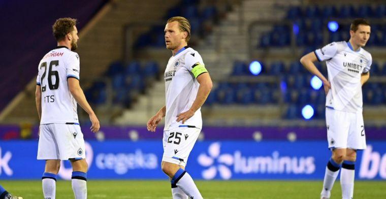 Vormer en Club Brugge hekelen puntendeling, Verheyen tikt hen op de vingers