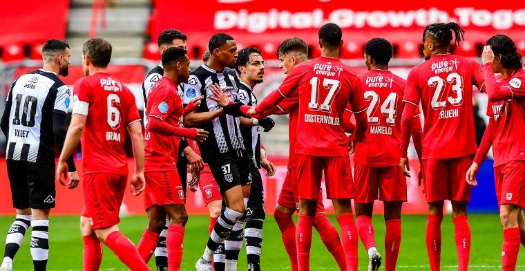 Twente en Heracles houden elkaar in evenwicht na spectaculaire slotfase