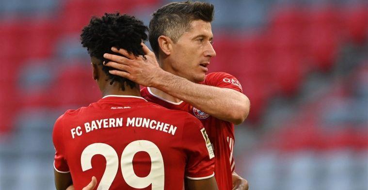 Feestavond voor 'Sofameister' Bayern: Lewandowski kan doelpuntenrecord ruiken