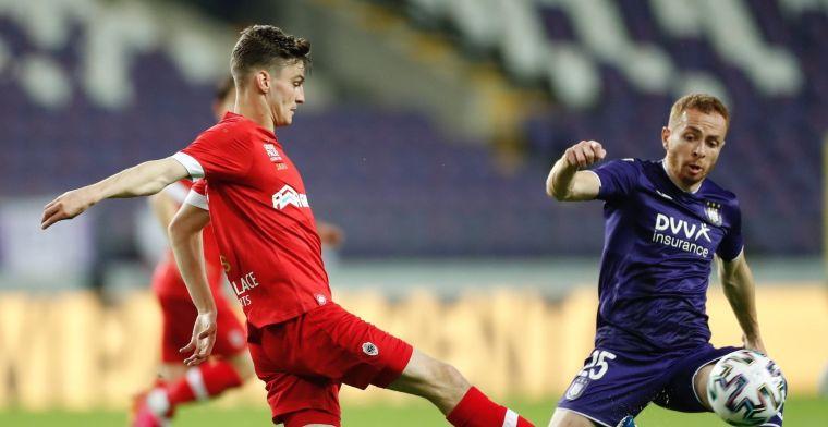 RSC Anderlecht pakt in de absolute slotfase een punt tegen FC Antwerp