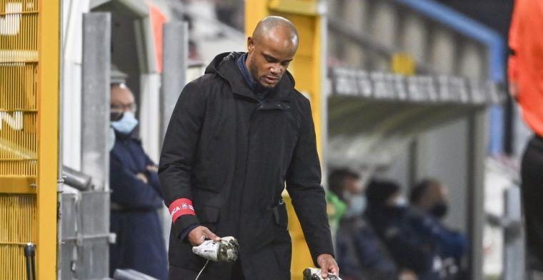 Kompany reageert na gelijkspel Anderlecht: Ik kan niet tevreden zijn
