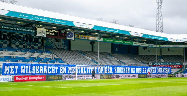 Media flink belaagd bij stadion De Graafschap, fotograaf gaat aangifte doen