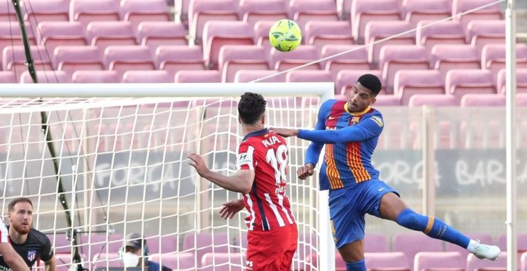 Atlético slaat aanval Barça af, maar moet in spanning naar tweede kraker kijken