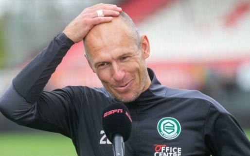 Afbeelding: VP's Elftal van de Week: Robben leidt hofleverancier Groningen, duo van Ajax