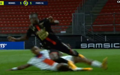 Zware frustraties bij PSG: Kimpembe ziet rood na genadeloze zaag op Doku