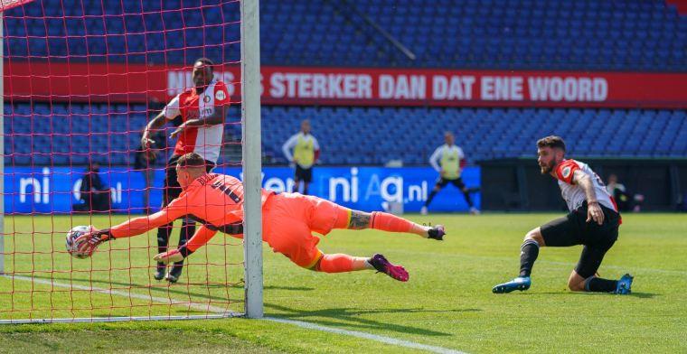 Ajax leidt in Klassieker door twee (!) eigen goals Feyenoord: 'Beter dan erehaag'