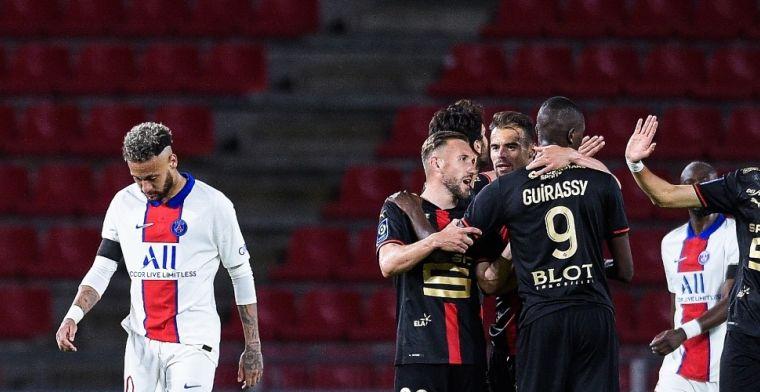PSG knoeit, sensationele Ligue 1-coup van Lille is bijna voltooid