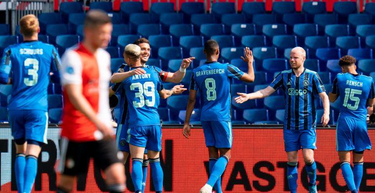 Zes conclusies: Feyenoord maakt reclame voor Disney-docu, Ajax blijft soeverein