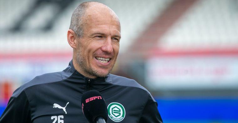 Robben kondigt 'beslissing' aan na glansrol bij Groningen: 'Nu is het makkelijk'