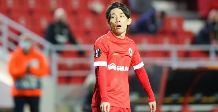 Miyoshi spreekt over zijn toekomst bij Antwerp: Dat weet ik niet