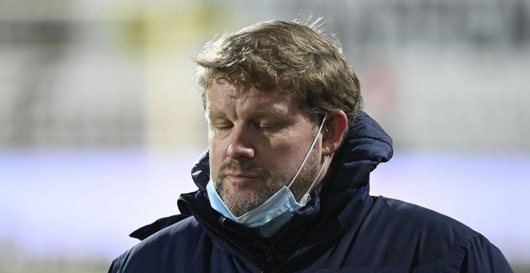 Vanhaezebrouck ontgoocheld bij KAA Gent: Heel slechte zaak