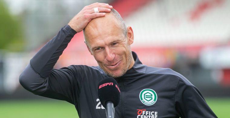 VP's Elftal van de Week: Robben leidt hofleverancier Groningen, duo van Ajax