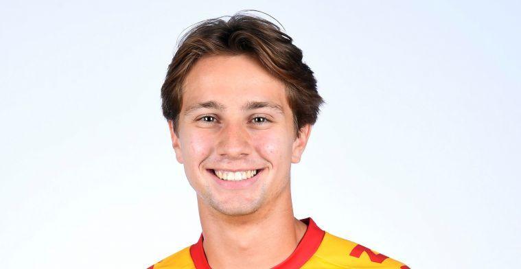 """Deman (KV Kortrijk): """"Heel trots dat ik hier twee jaar kan bijtekenen"""""""