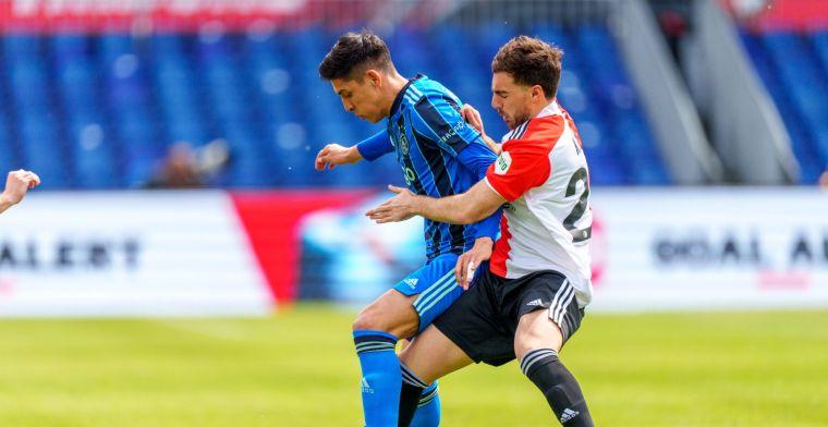 LIVE: niet op hoogste versnelling voetballend Ajax wint Klassieker ruim (gesloten)