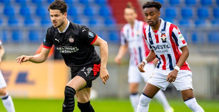 LIVE: PSV kent zorgeloze middag tegen weerloos Willem II (gesloten)