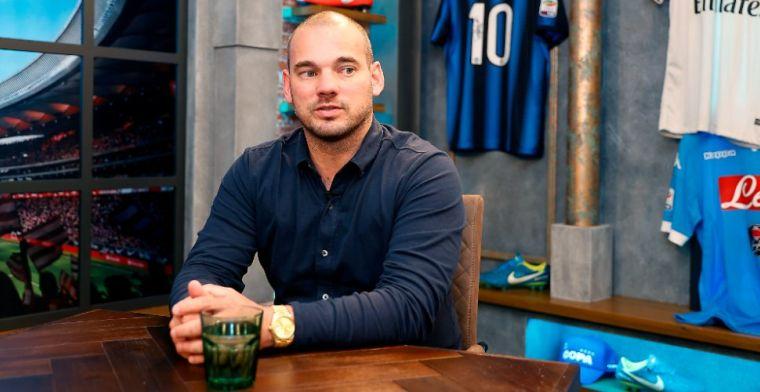Sneijder: 'Ik zou het voor hem fantastisch vinden dat Real Madrid kampioen wordt'