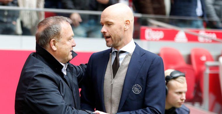 Ten Hag krijgt Feyenoord-felicitaties: 'Diep respect, hopelijk kom ik in de buurt'