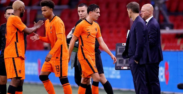 De Boer waarschuwt: 'Bij Oranje is het een ander niveau, eerlijk gezegd'