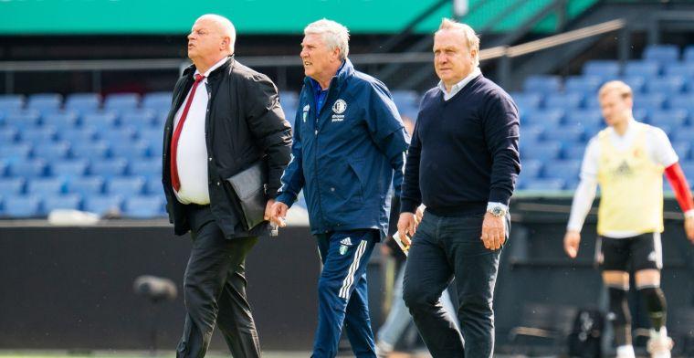 Advocaat 'kan niet boos zijn' op Feyenoord-spelers: 'Niet minder dan Ajax'
