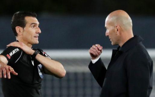 Afbeelding: Zidane furieus op arbitrage: 'Spreek hier nooit over, maar nu ben ik boos'