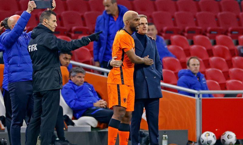 Afbeelding: De Boer blijft fan: 'Die kan ploeggenoten af en toe een pets om de oren verkopen'