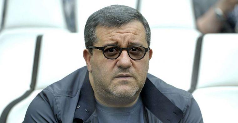 Reactie Raiola op situatie-Zahavi: 'Trek 100.000 euro uit als 'verzekering''